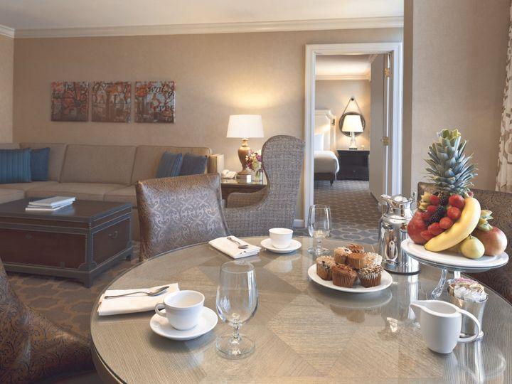 Tmx 1467915511933 Fairmont Suite From Table Into Guestroom  900091 Dallas, TX wedding venue
