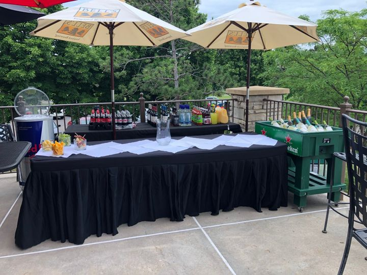 Pop Up Bar for Cocktail Hour