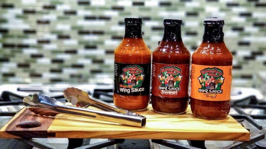 Award winning sauces