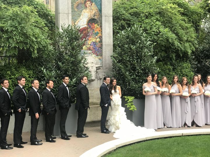 Guastavino's, New York City -  Bridal party photos