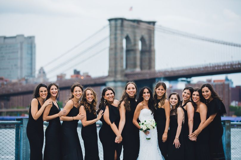 Bride @ Brooklyn Bridge