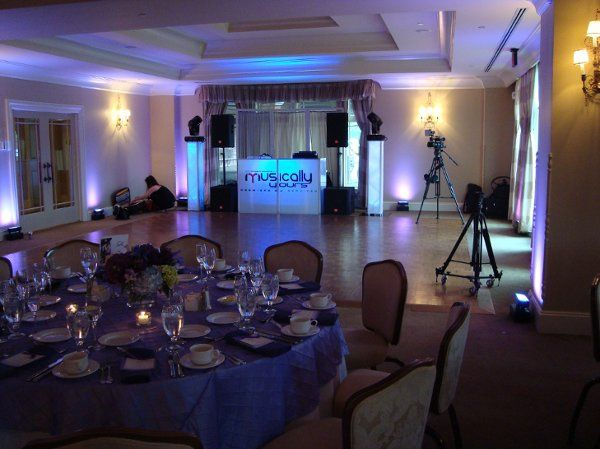 Reception and DJ set-up