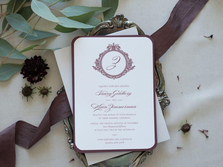 Tmx 1476055920582 Pmm Estate Heirloom 4 Commack wedding invitation
