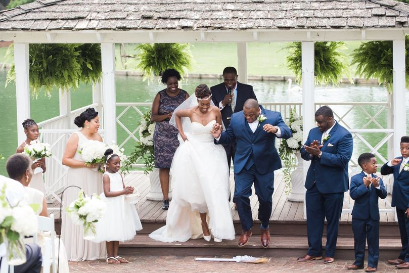 Rose Hill Plantation wedding