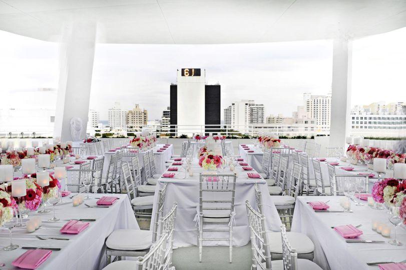 skydeck rooftop miami venue miami beach fl weddingwire. Black Bedroom Furniture Sets. Home Design Ideas