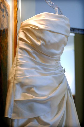Beautiful dress for the bride