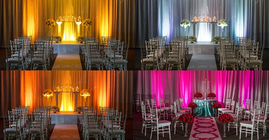 You're reception can look like