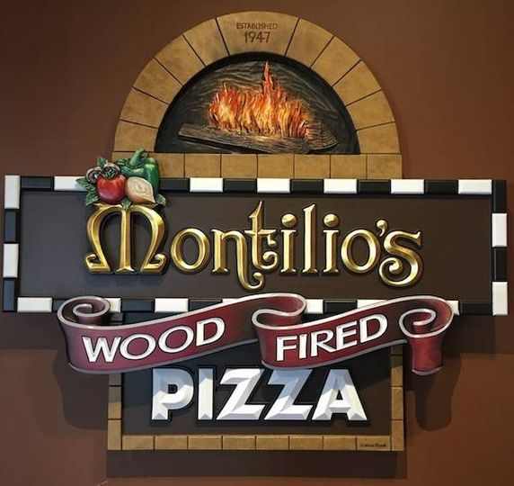 Montilios wood fired pizza