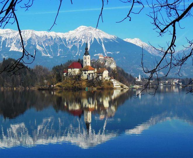 Lake Bled Slivenia