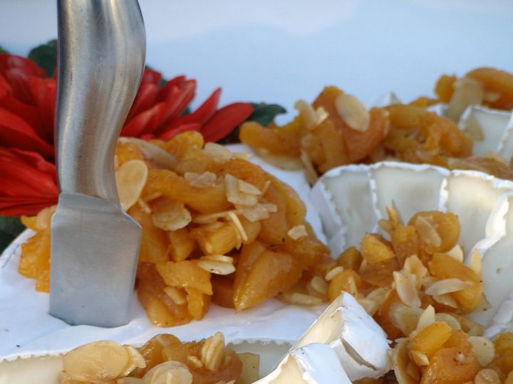 Tmx 1437505585372 Brie W Poached Apricots  Toasted Almonds Aptos, CA wedding catering