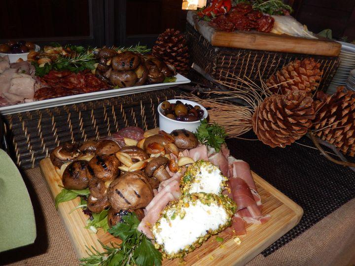 Tmx 1437506611305 Winter Stationary Appetizer Set Up Aptos, CA wedding catering