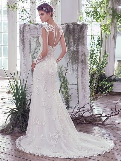 maggie sottero rosaleigh 6mr782 back