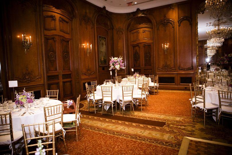 Fancy reception setup