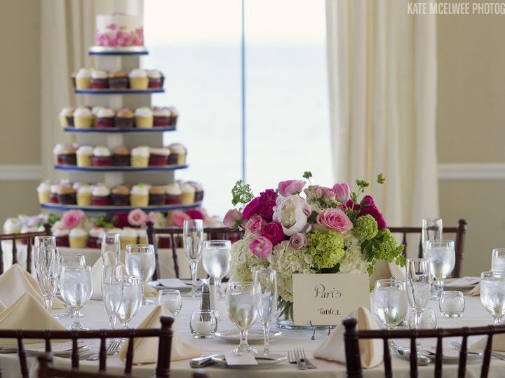 Tmx 1383329605459 52 Pretty Centerpieces And Cake Of Cupcake Warwick, RI wedding venue