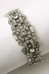 Heirloom Bracelet.  Absolutely one of my favorites.  This is meant to be worn by a bride!  Its...