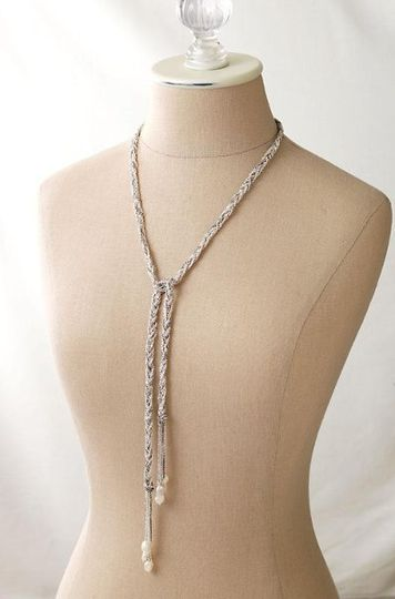The Josephine Lariat Necklace.  The versatility of this necklace will amaze you! Can be worn as a...
