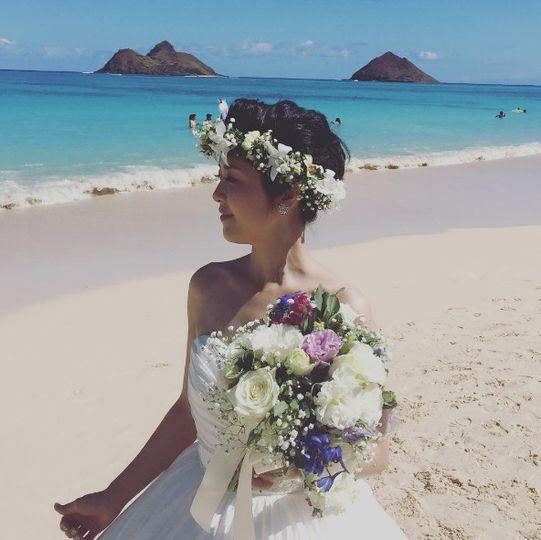 lanikai wedding hawaii 5