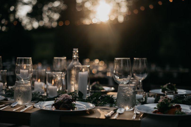 Dinner at Sunset, M & D Farm