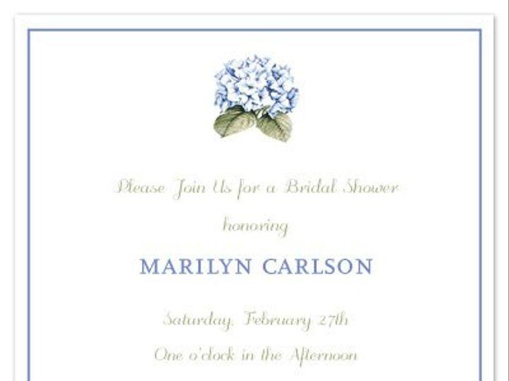 Tmx 1273864308845 Hydranga Washington wedding invitation