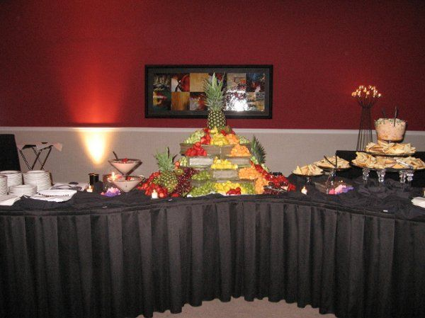 T and J Catering Appetizer Buffet