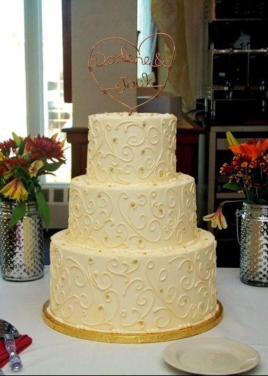 Cake at Waterfront Tavern