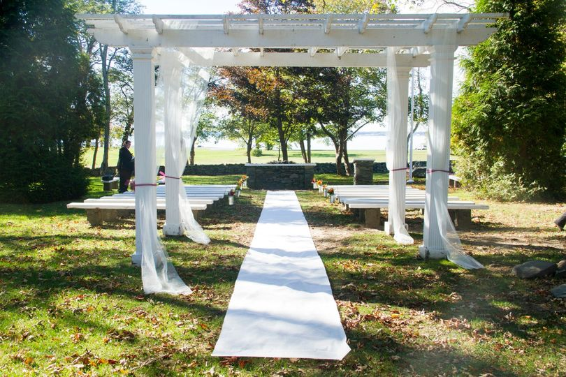 Colt State Park  outdoor ceremony