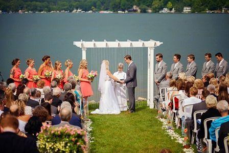 Wedding Ceremony Lakeside