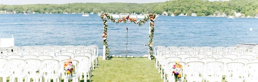 Lakefront Ceremony Lawn