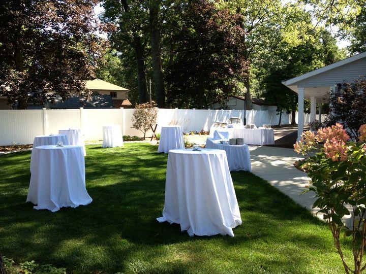 Tmx 1380028581056 Bh Courtyard Cocktail Set Up 3 Shelbyville, MI wedding venue