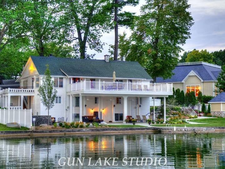Tmx 1380028629991 Boathouse Side Shot  Gun Lake Stdios Shelbyville, MI wedding venue