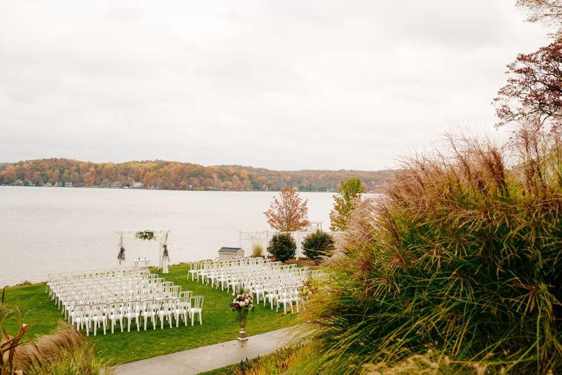 Lakefront Ceremony Site