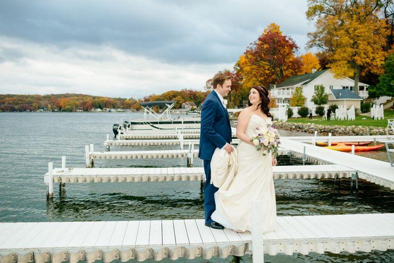 Docks in Fall