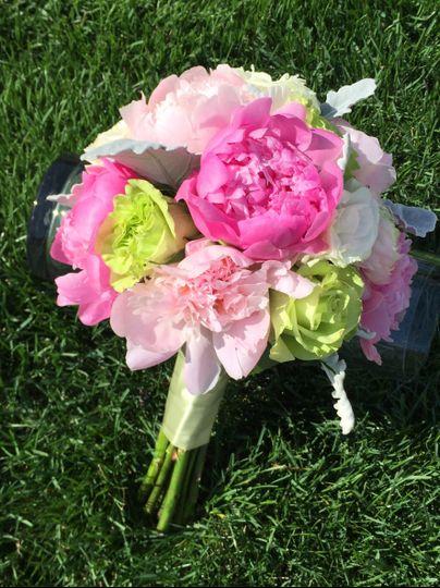 peonies bouquet 2