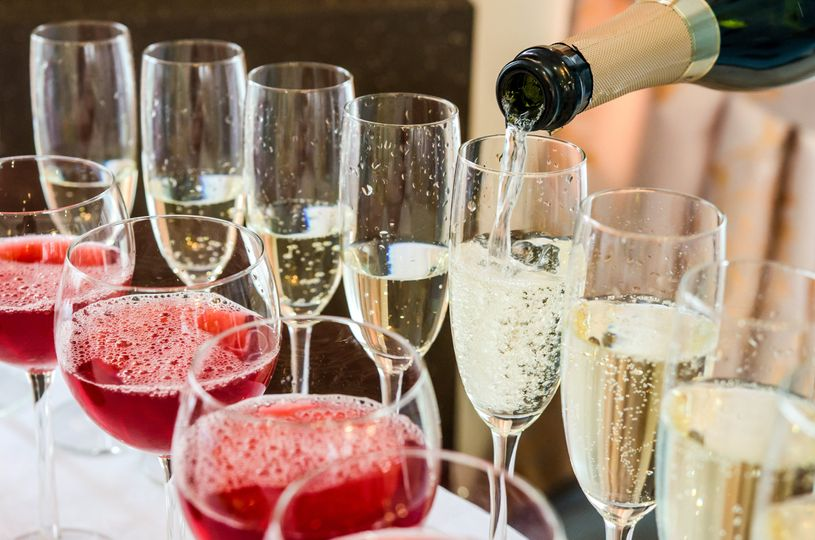 Champagne and wine bar