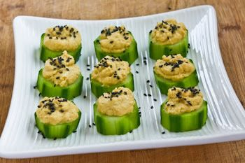 Tmx Cucumber Hummus Appetizer 6 Kalynskitchen 51 1017908 San Jose, California wedding catering