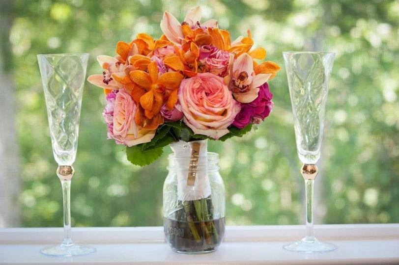 Bouquet centerpiece