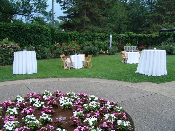 Tmx 1343247302324 TablesinGarden Pittsburgh, PA wedding venue