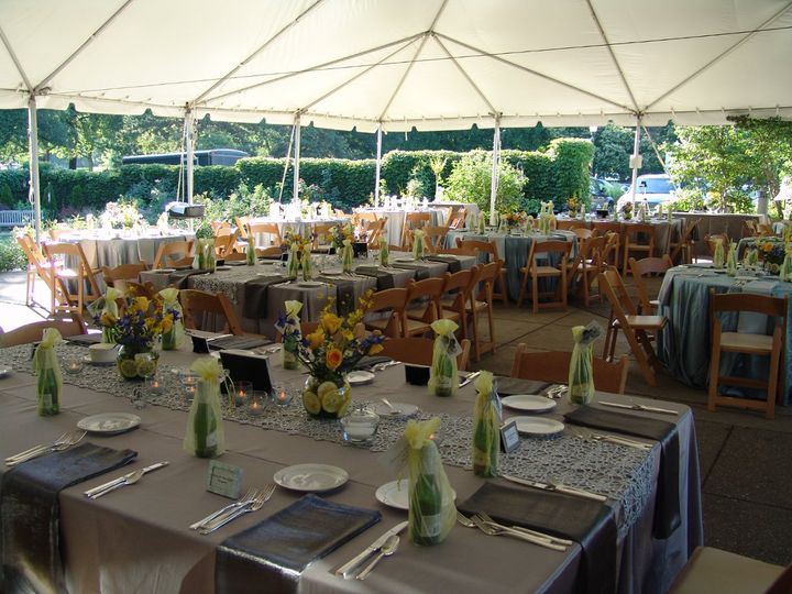 Tmx 1343247497766 InsideTentMixedTablesLavender Pittsburgh, PA wedding venue