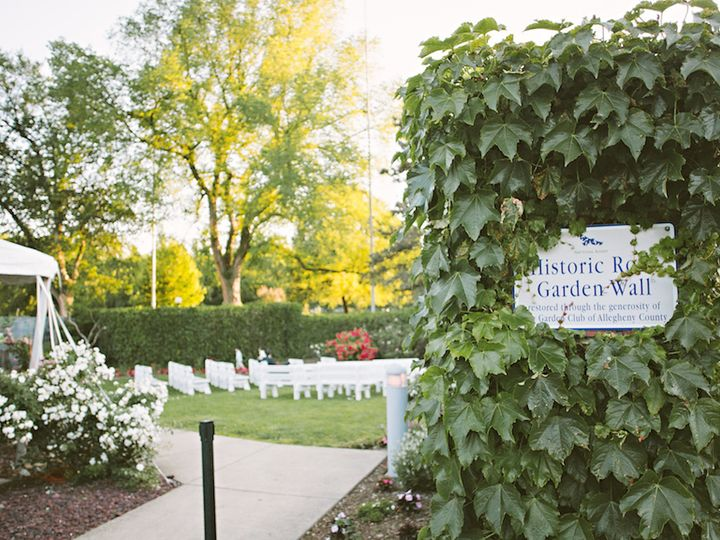 Tmx 1470850947005 Garden Benches   June 2014 Pittsburgh, PA wedding venue