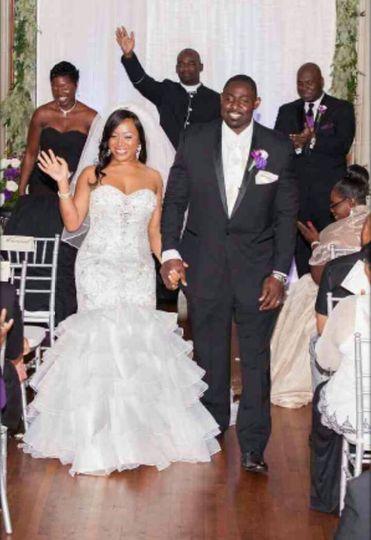 erica stenio wedding pic