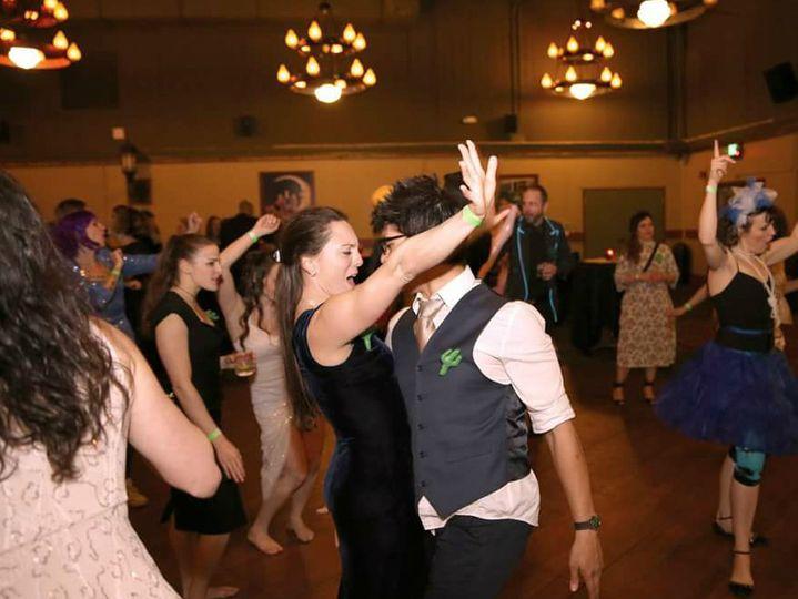 Dancing all night!
