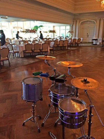 Wedding with CW Productions percussionist