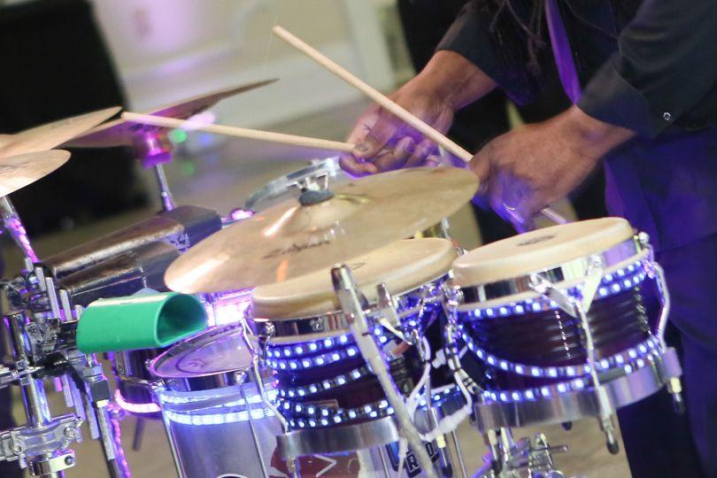 Band drum set