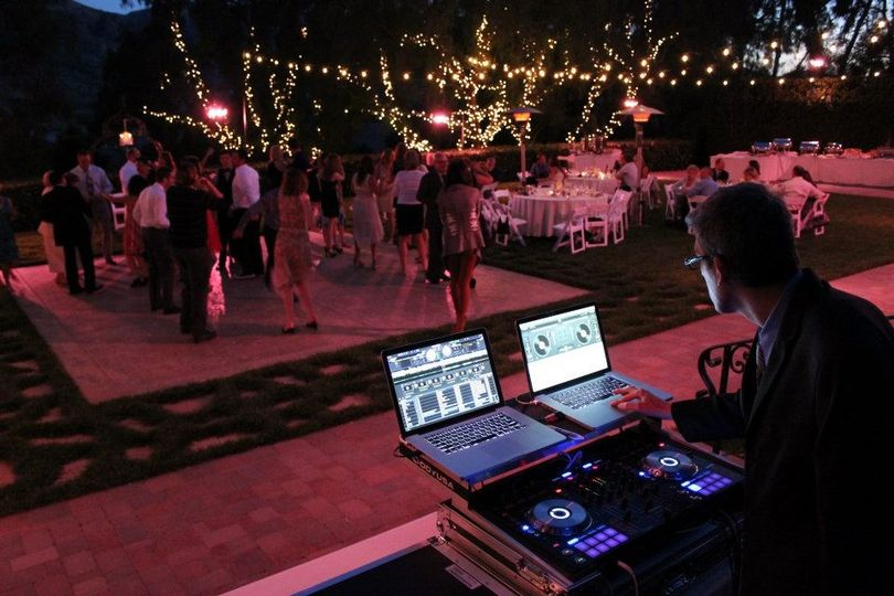 dj evergreen dance floor wedding 6 23 2013