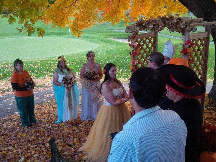 Tmx 1445185763243 Jamie  Lisas Costume Wedding Ceremony 1 Cuttingsville, VT wedding dj