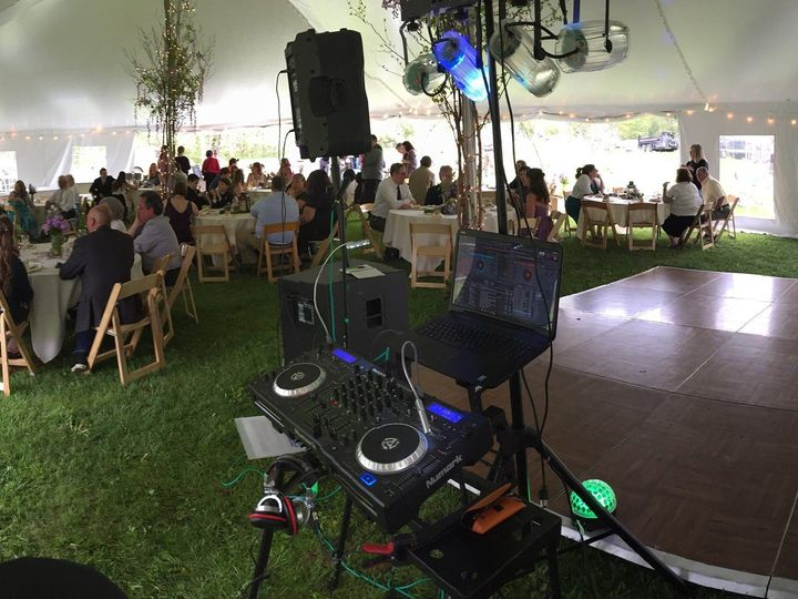 Tmx 1464376319471 Panorama During Dinner Cuttingsville, VT wedding dj