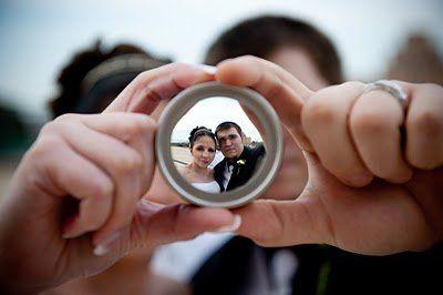 Newlyweds through the lens
