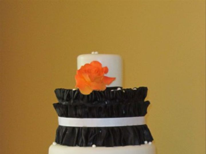 Tmx 1318609709522 Pretty Indianapolis wedding cake