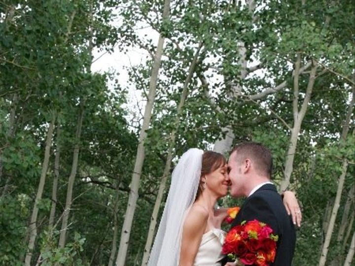 Tmx 1340904470297 Amber20and20Groom20kiss Estes Park, Colorado wedding florist