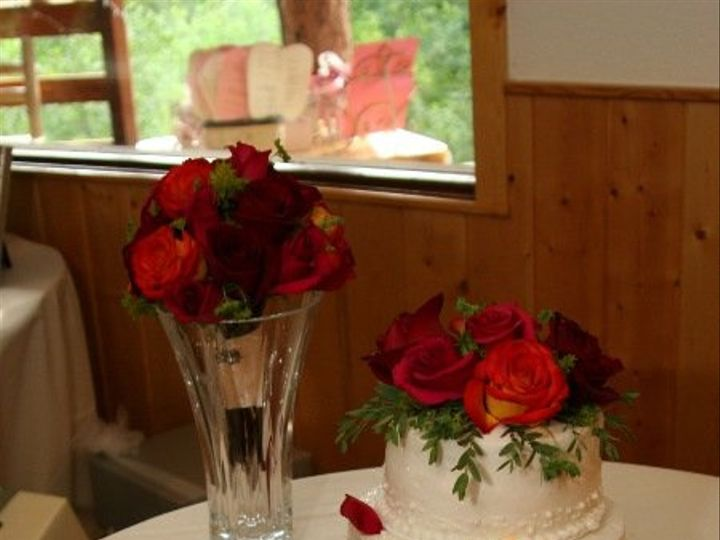 Tmx 1340904476642 Amber20cake20and20toss20bouquet Estes Park, Colorado wedding florist